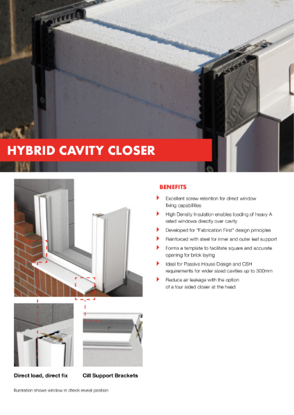 Cavalok Hybrid Cavity Closure Product Information