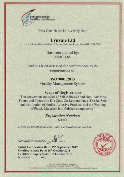 ISO 9001 : 2015 Quality Assurance