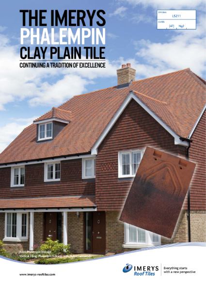 The Imerys Phalempin Clay Plain Tile