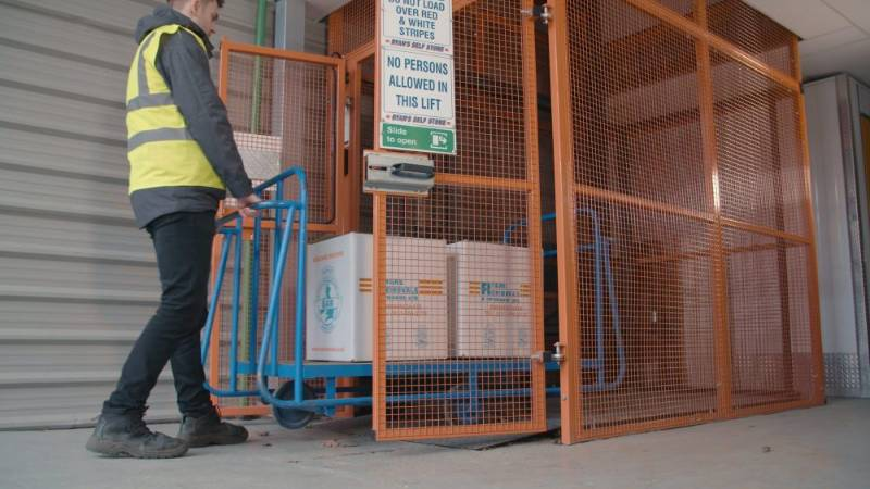 Penny Hydraulics Provide Self Storage Company with a Lift