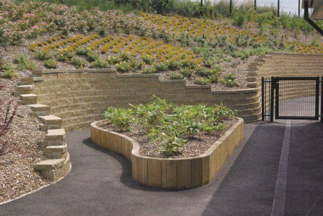 Anchor Diamond® Segmental Retaining Wall Blocks