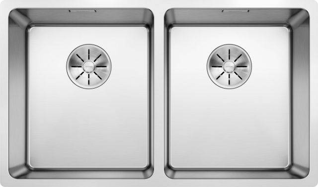 Andano Stainless Steel Undermount Double Bowl