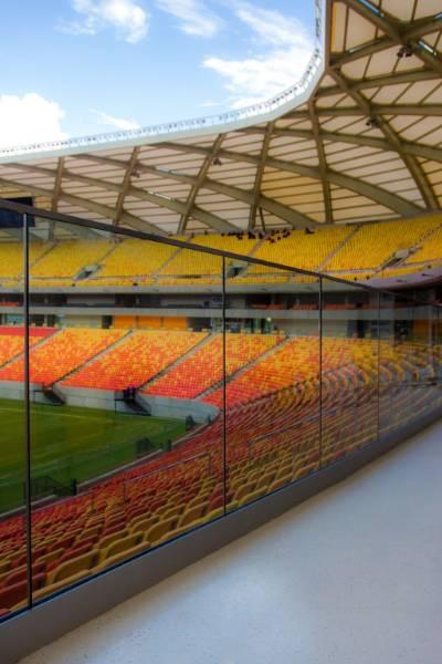 Easy Glass Slim + Q-line: FIFA World Cup stadium Brazil