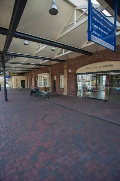 Antrim Bus & Rail Station