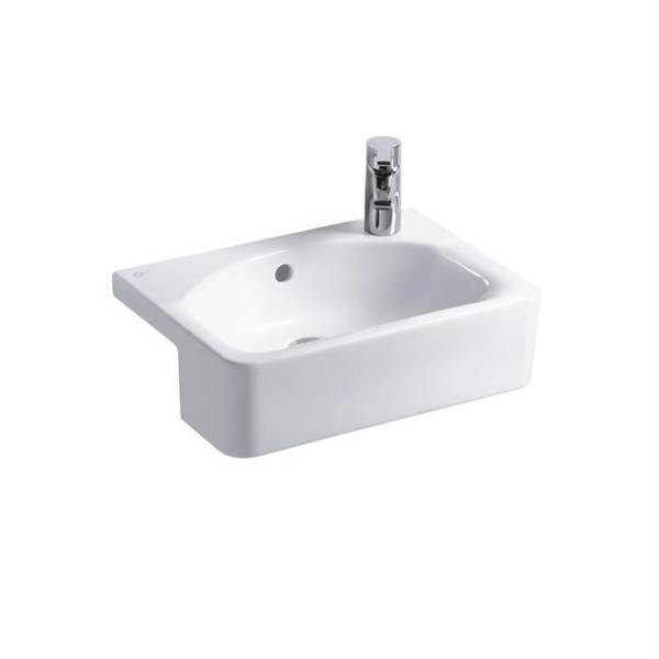 Concept Space Cube 50 cm Semi-Countertop Washbasin