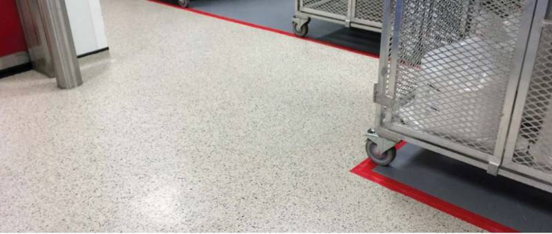 Resin flooring system Elladur™ Deco Flake SL