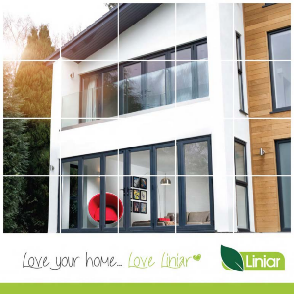 Liniar consumer brochure including windows, doors, conservatories, roofs, decking, fencing and piling.
