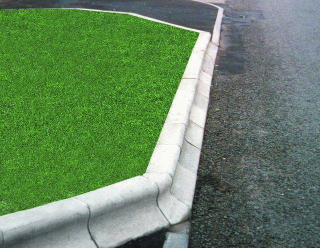 Trief® GST1A Cadet 90° Internal Quadrant Kerb