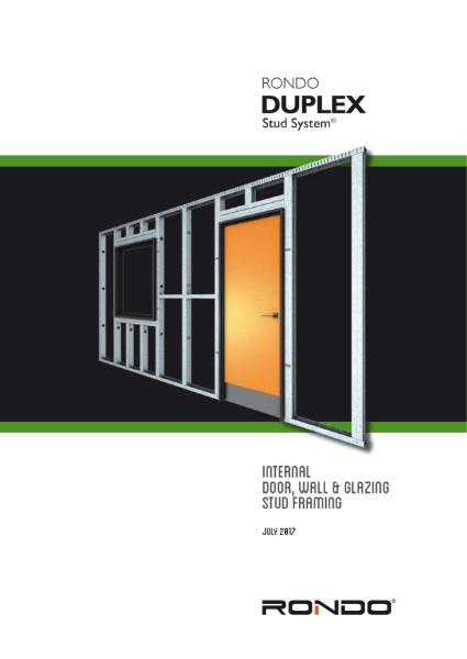 Design Manual - DUPLEX Internal Stud Framing System