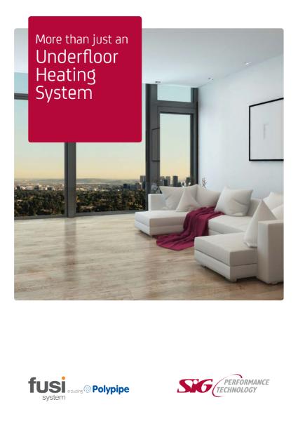 FUSI Underfloor Heating System