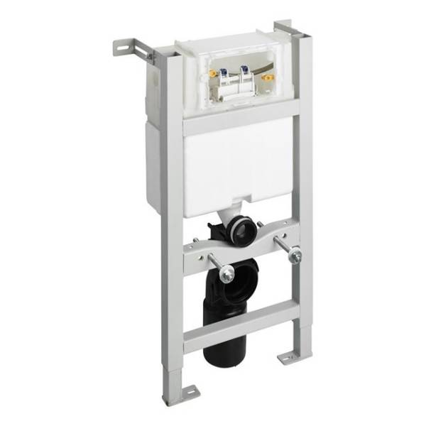 In-wall System for WC 820mm, Mechanical Top Or Front Flushplate