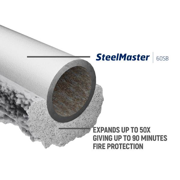 SteelMaster 60SB Protective intumescent coating