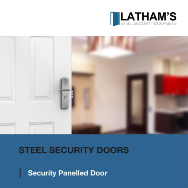 Security 6 Panelled Steel Door Brochure