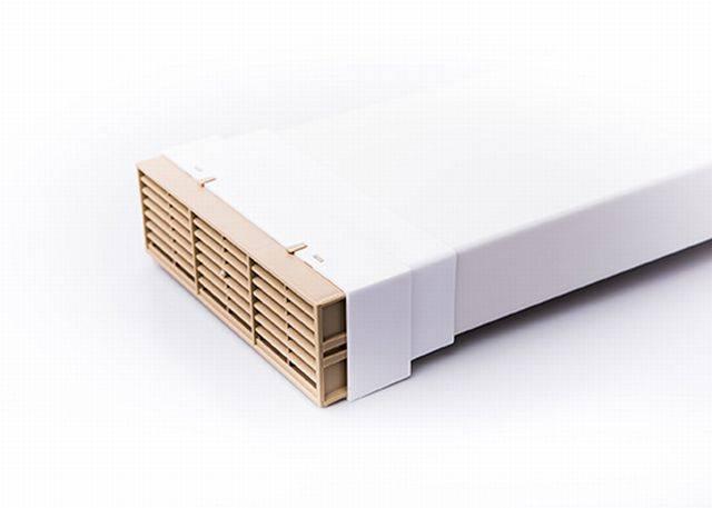 RD5MFAB - Rytons Multifix® Air Brick with Ducting Adaptor 204mm x 60mm