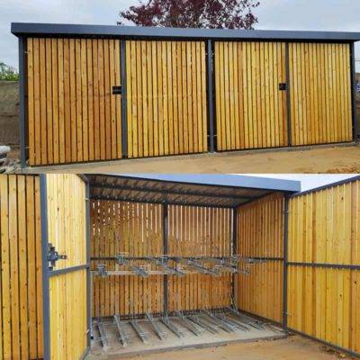 Welwyn Garden City - Two Tier Amazon Eco Shelter