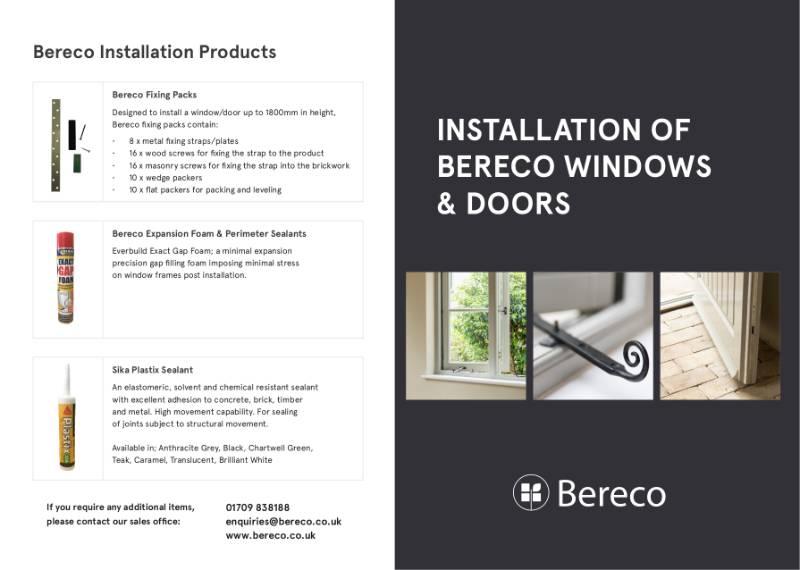 Installation of Timber Windows & Doors