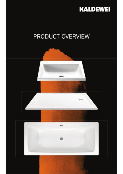 2018 Kaldewei Product Range
