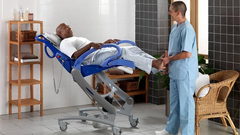 Carendo® - Height Adjustable Multi-Purpose Hygiene Chair