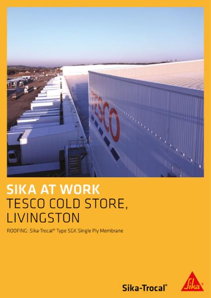 Tesco Cold Store, Linvingston