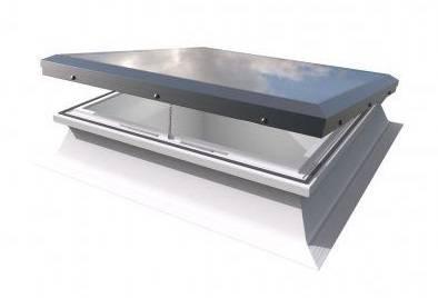 Flat Glass Roof Window - Manual Opening Mardome Rooflight
