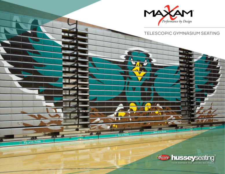 Retractable seating for Sports Brochure