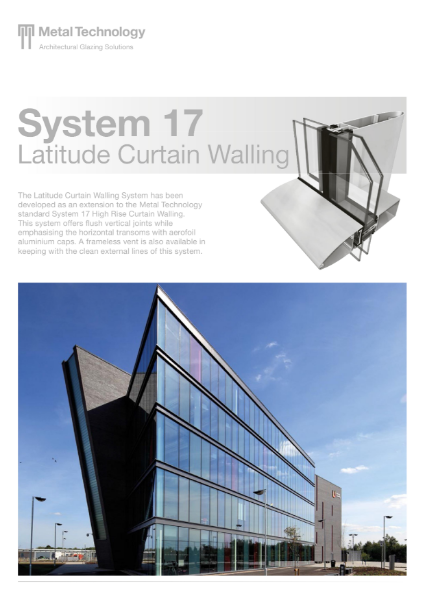 Aluminium Latitude Curtain Walling