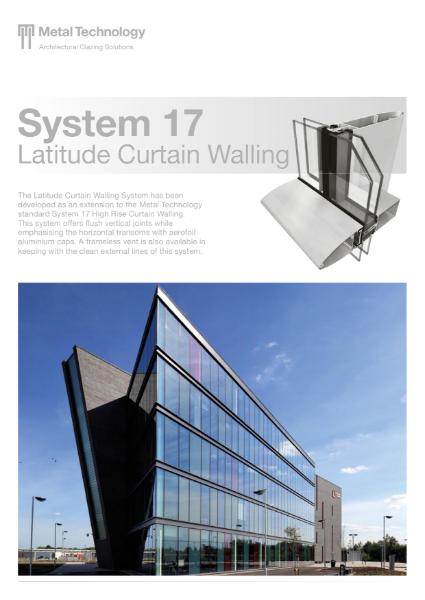 Aluminium Latitude Curtain Walling