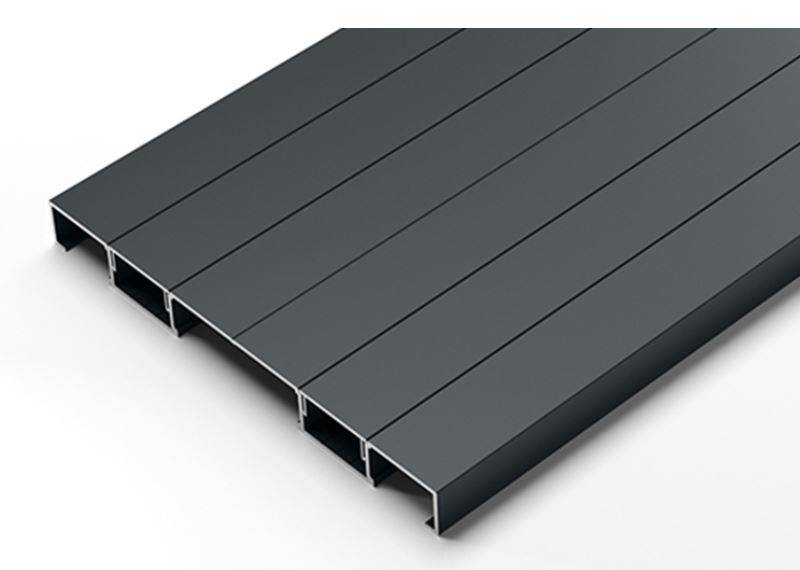 Adek Aluminium Decking Board: Comfort Grip 295 Board