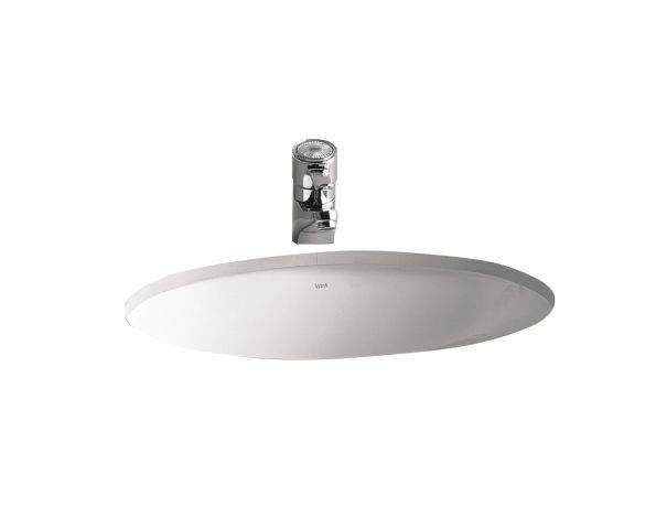 VitrA S20 Undercounter Washbasin, 52 cm, Oval, 6039