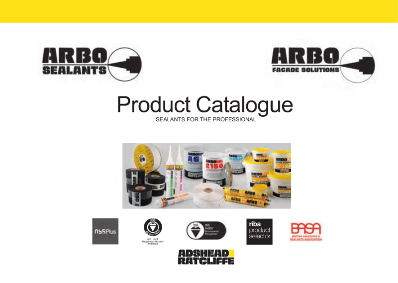 ARBO Product Catalogue