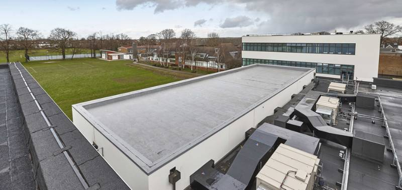 IKO Armourplan - Reducing costs and risk on school roofing project