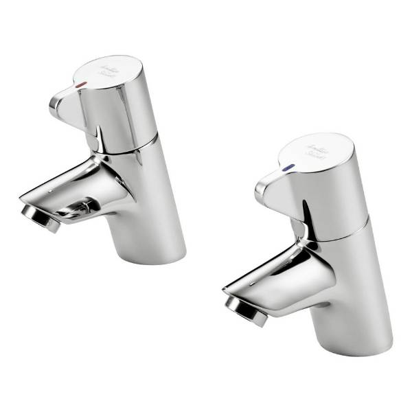 Piccolo 21 Basin Pillar Taps