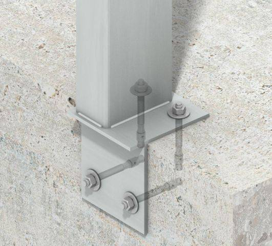 Ancon Parapet Posts