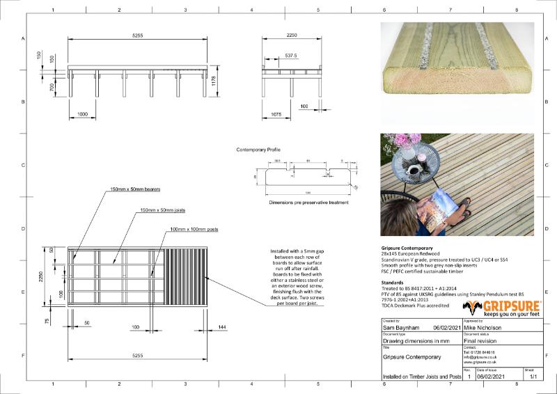 Gripsure Standard Detail Drawings