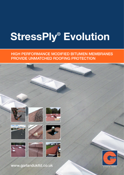StressPly Evolution Modified Bitumen Waterproofing Membrane - Garland