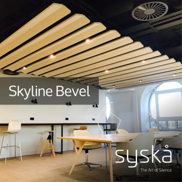 09 - Skyline Bevel - Acoustic Ceiling Panel - Technical Datasheet