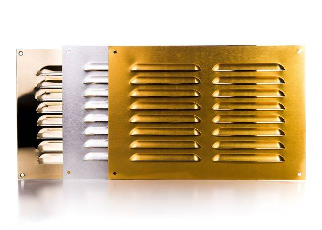 Rytons Metal Louvre Ventilator Range