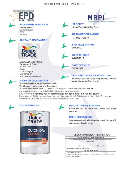 17 MRPI EPD Quick Dry Gloss DEF
