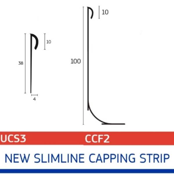 Slimline Capping Strip
