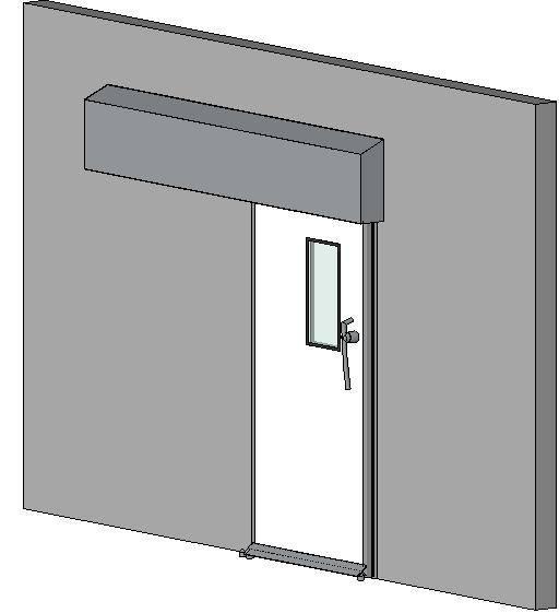 Hermetically Sealing Sliding Door - 60 Min Fire Rating
