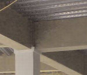 Suspended protection to steel beams