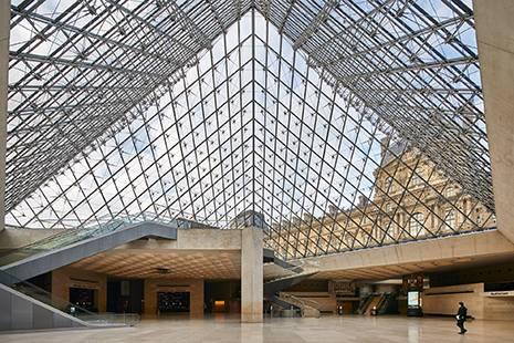The Louvre Museaum , Paris