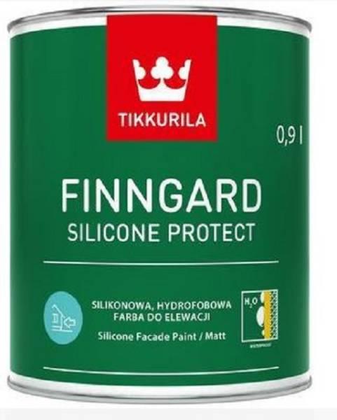 Finngard Silicone Protect - waterborne, smooth matt masonry paint