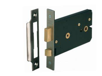 Horizontal Mortice Bathroom Lock (HUKP-0203-06)