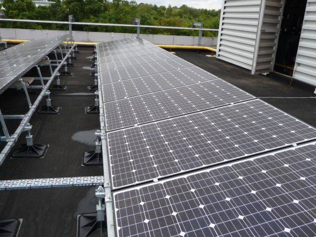 Big Foot Solar Support