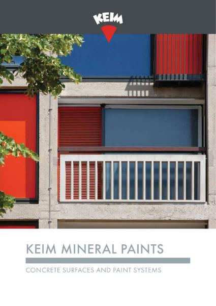 Keim Mineral Paints - Concrete Brochure
