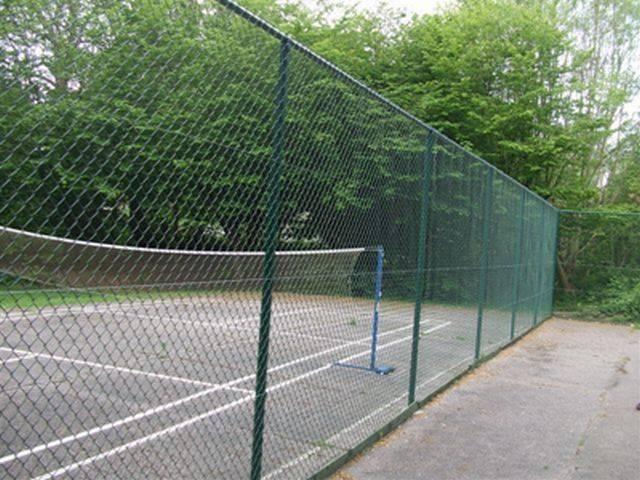 Tubular Tennis Court Surround
