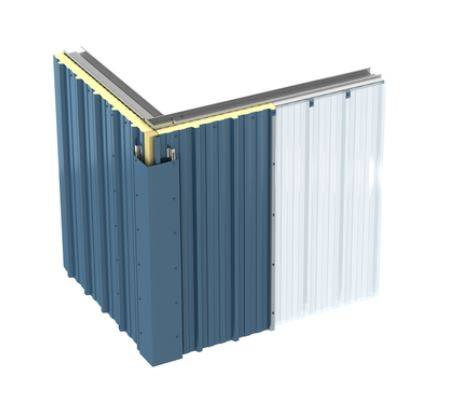 KS1000 RW Insulated Wall Panel System – QuadCore™