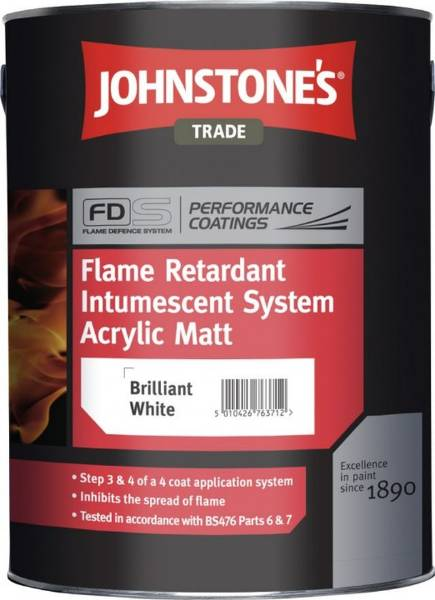 Flame Retardant Intumescent Upgrade System - Durable Matt