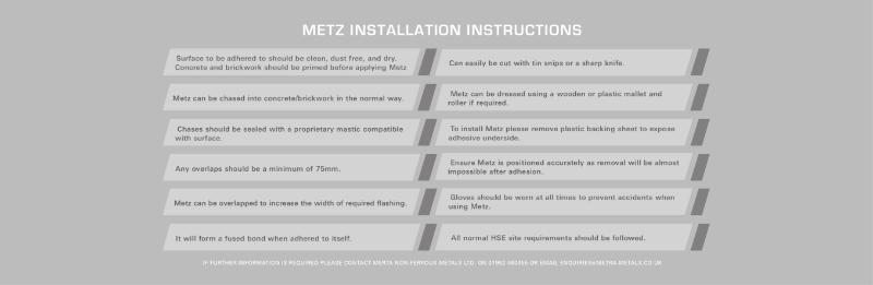 Metz installation.